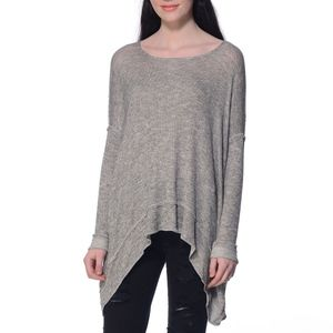 Free People Chasing You Open Twist Back Sweater